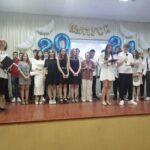 Вручение аттестатов девятиклассникам.